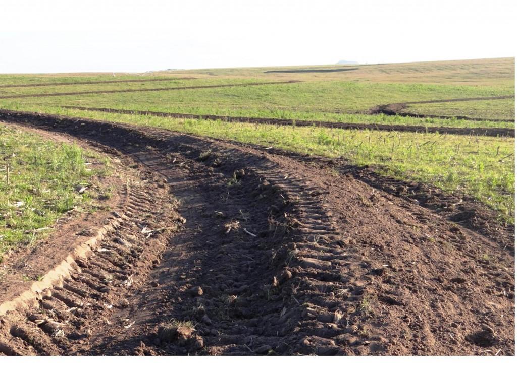 Drenagem de terras altas / Faz. União Rosário do Sul-RS